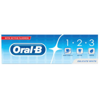 Oral-B 123 Delicate White hambapasta (100 ml)