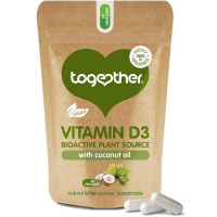 Together Health Vegan Vitamin D3 with Coconut Oil kapslid (30 tk)