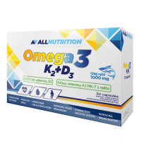 AllNutrition Omega3 + D3 + K2 tabletid (30 tk)