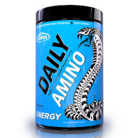 Cobra Labs Daily Amino aminohapete kompleks, Blue Raspberry Rush (255 g)
