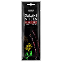 Salami Sticks, Lean Pork Original (40 g). Parim enne 08.2020