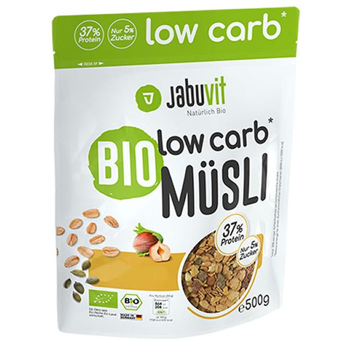 JabuVit Low Carb muesli madala süsivesikusaldusega müsli, Mandli-šokolaadi (500 g)