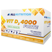 AllNutrition Vitamin D3 Forte 4000 IU kapslid (30 tk)