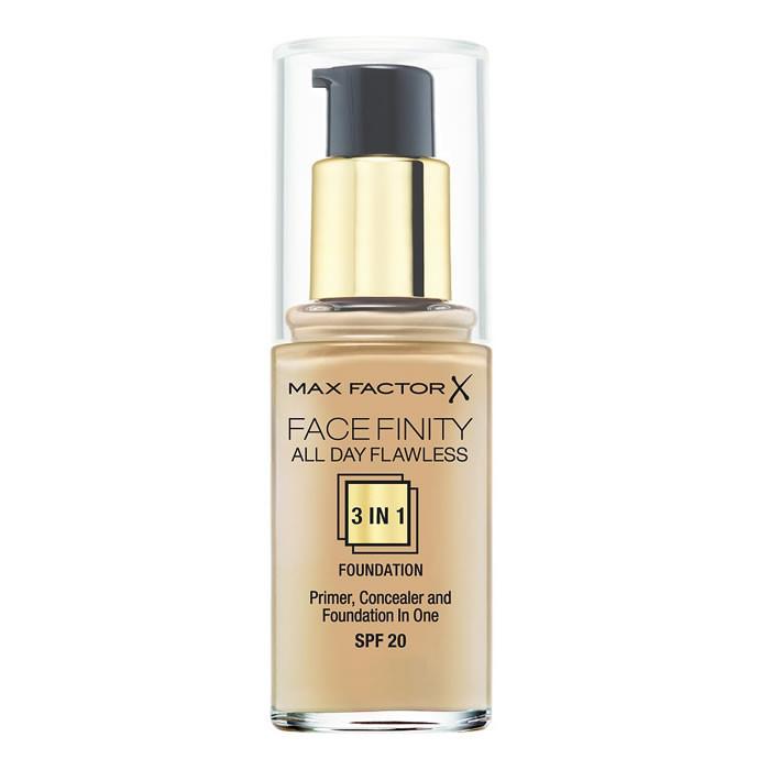Max Factor Face Finity 3in1 SPF20 jumestuskreem, Natural (30 ml)