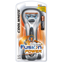 Gillette Fusion Power Cool White Razor raseerija