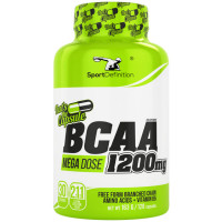 Sport Definition BCAA 1200mg That's the Capsule kapslid (120 tk)