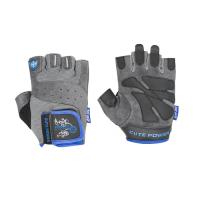 Power System Gloves Cute Power treeningkindad, Sinine (L)