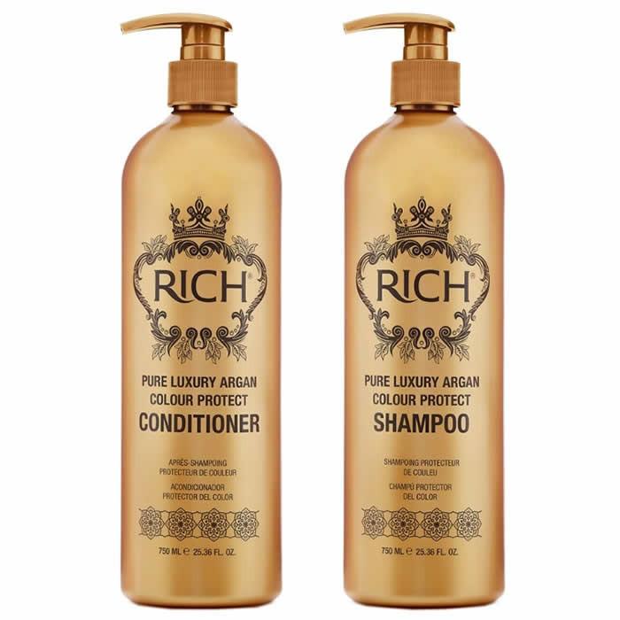 RICH Pure Luxury Argan Colour Duo komplekt (2 x 750 ml)