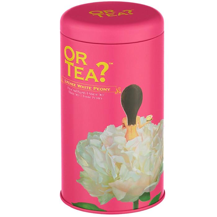 Or Tea? Orgaaniline maitsetatud valge Hiina tee, White Peony with Lychee (50 g)