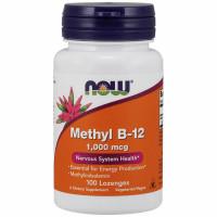 NOW Methyl B-12 1000mcg imemistabletid (100 tk)