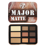 W7 Major Matte lauvärvipalett (10 g)