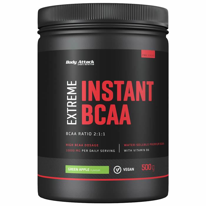 Body Attack Instant BCAA Extreme, Rohelise õuna (500 g)
