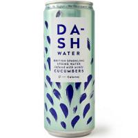 Dash karboniseeritud allikavesi, Kurgi ekstraktiga (330 ml). Parim enne 02.2021.