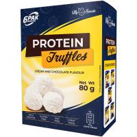 6PAK Protein Truffles proteiinitrühvlid, White (80 g)