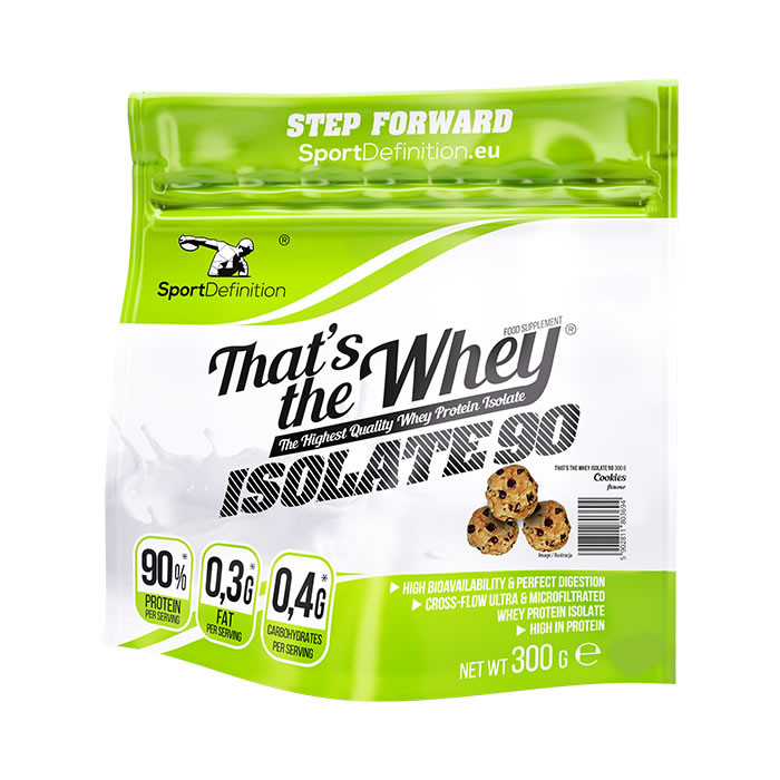 Sport Definition That's The Whey Isolate vadakuvalguisolaat, Küpsise (300 g)