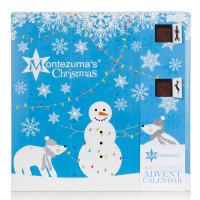 Montezuma's Organic & Vegan tumeda šokolaadi advendikalender