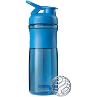 BlenderBottle Sportmixer Grip šeiker-joogipudel, Cyan (820 ml)