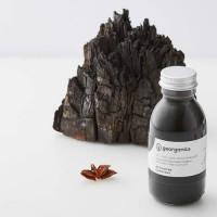 """Georganics orgaaniline suuloputusvahend """"Oil Pulling"""" kookosõli baasil, Valgendava aktiivsöega (100 ml)"""