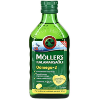 Möller's Kalamaksaõli, Sidruni (250 ml)