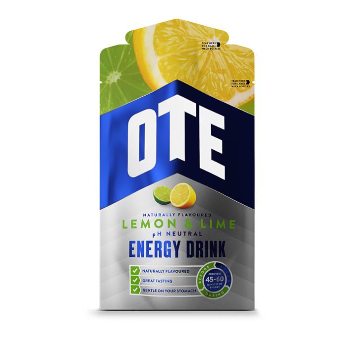 OTE Powdered Energy Drink spordijoogi pulber, Lemon-lime (43 g)