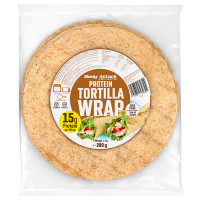 Body Attack Protein Tortilla Wraps 4 tk (280 g)