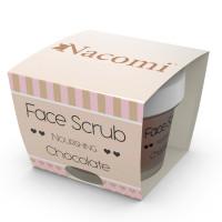 Nacomi Face & Lip Scrub koorija näole ja huultele, Nourishing Chocolate (80 g)