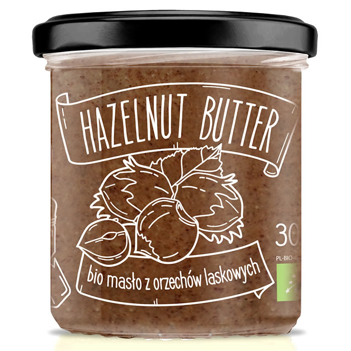 Diet Food Bio Hazelnut Cream metsapähklikreem (300 g)