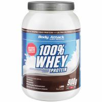 Body Attack 100% Whey Protein, Kreemiküpsise (900 g)