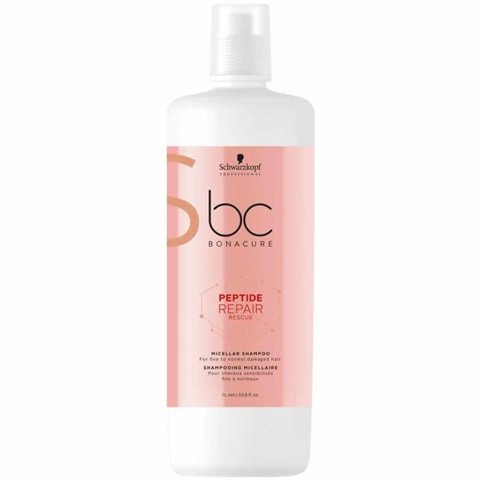 Schwarzkopf BC Peptide Repair Micellar šampoon (1000 ml)