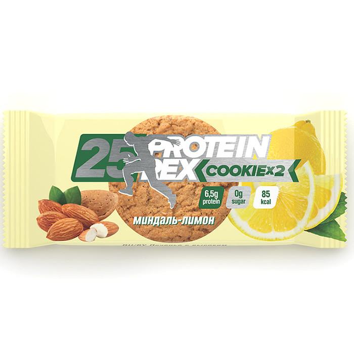 Protein Rex proteiiniküpsised, Mandli-sidruni (50 g)