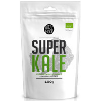 Diet Food Bio Super Kale orgaaniline lehtkapsa pulber (100 g)