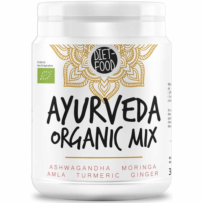Diet Food Super Ayurveda Organic Mix (300 g). Parim enne 30.08.2019