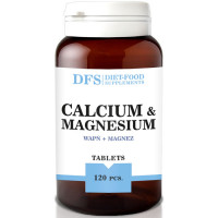 Diet Food kaltsiumi ja magneesiumi 800mg tabletid (120 tk)