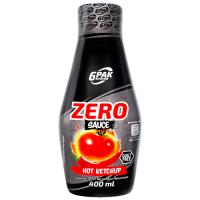 6PAK Sauce Zero, Hot Ketchup (400 ml)
