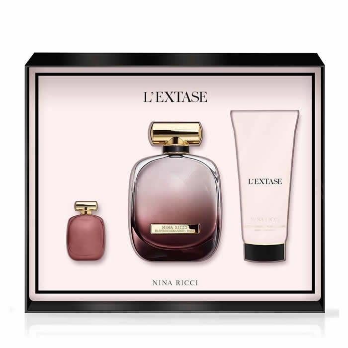 Nina Ricci L'Extase Set EDP (50 ml) + BLO (100 ml) + EDP (4 ml)