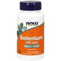 NOW Selenium 200 mcg kapslid (90 tk)