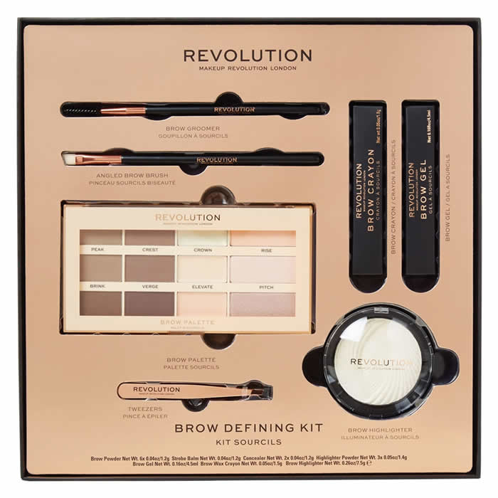 Makeup Revolution Brow Defining komplekt