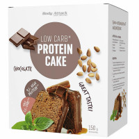 Body Attack Low Carb Protein Cake, Šokolaadi (150 g)