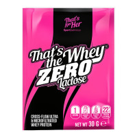 Sport Definition That's The Whey ZERO [THAT'S FOR HER] aminohapetega valgupulber, Sidrunivahvli (30 g)