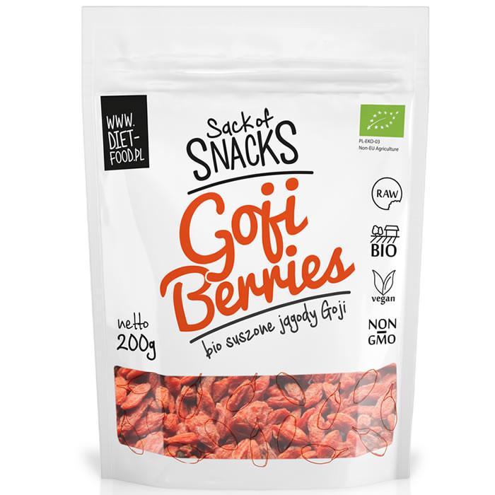 Diet Food Bio Goji Berries orgaanilised goji marjad (200 g)