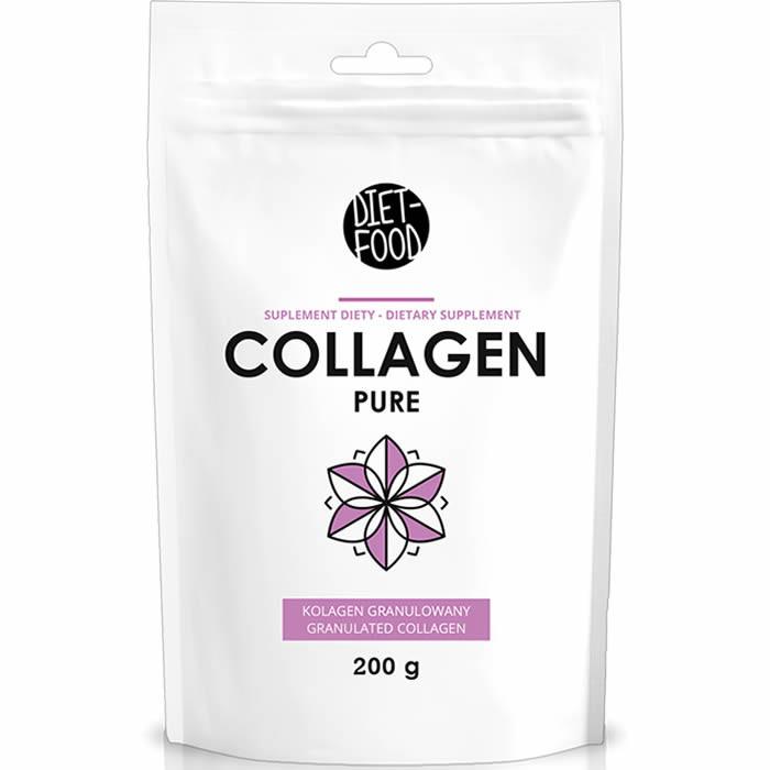 Diet Food Collagen Pure kollageenipulber (200 g)