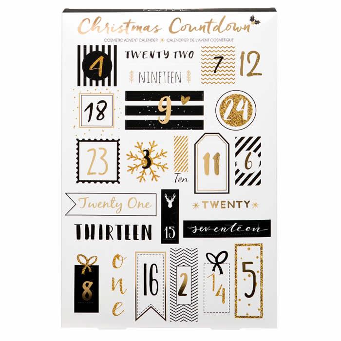 Technic Christmas Countdown advendikalender kosmeetika toodetega