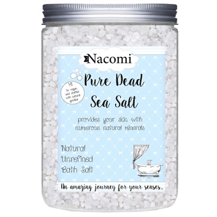 Nacomi Surnumere sool rafineerimata, Dead Sea Salt - Pure (1400 g)