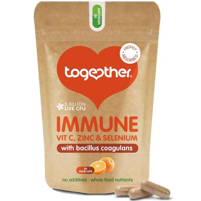 Together Health Immune Complex Support kapslid piimhappebakteritega (30 tk)