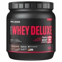 Body Attack Extreme Whey Deluxe valgupulber, Šokolaadi (500 g)