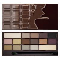 Makeup Revolution I Heart Makeup lauvärvipalett, Death By Chocolate (22 g)