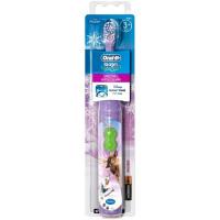 BRAUN Oral-B Stages Power DB4.510 elektriline patareidega hambahari lastele, Frozen
