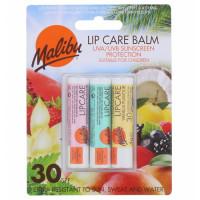 Malibu SPF30 Assorted Flavors huulepalsamite komplekt (3 tk)