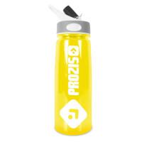 Prozis Handy Bottle kõrrega joogipudel, Kollane (600 ml)