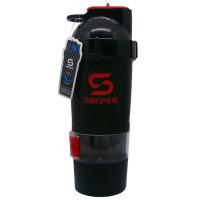 ShakeSphere V2 šeiker, Must-punane (700 ml)